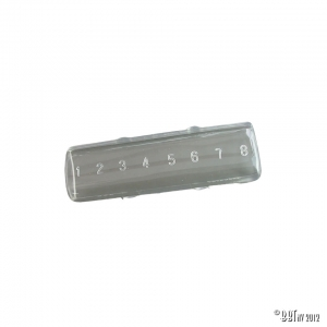 Fuse box cover, 8 fuses